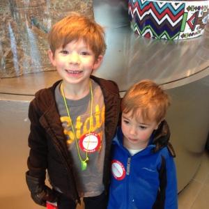 Noah and Aaron