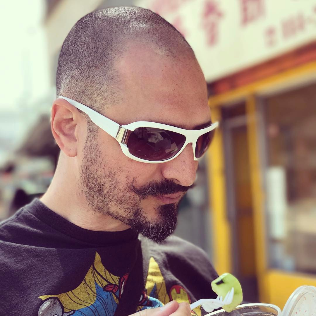 Adam and Street Food in the Mission