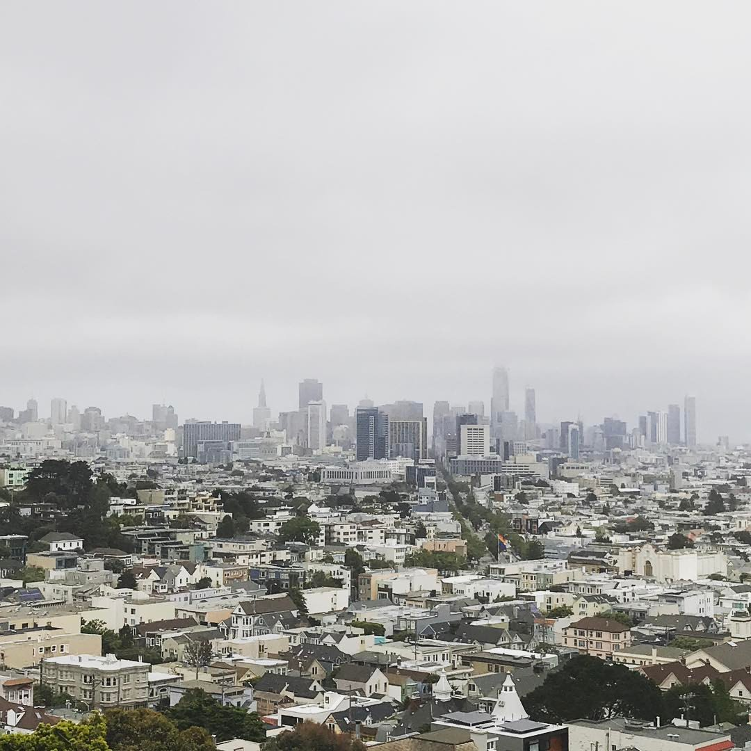 Looking at SF in the mist